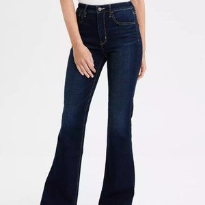 """American Eagle """"Curvy Fit Highest Rise Flare Jean"""""""